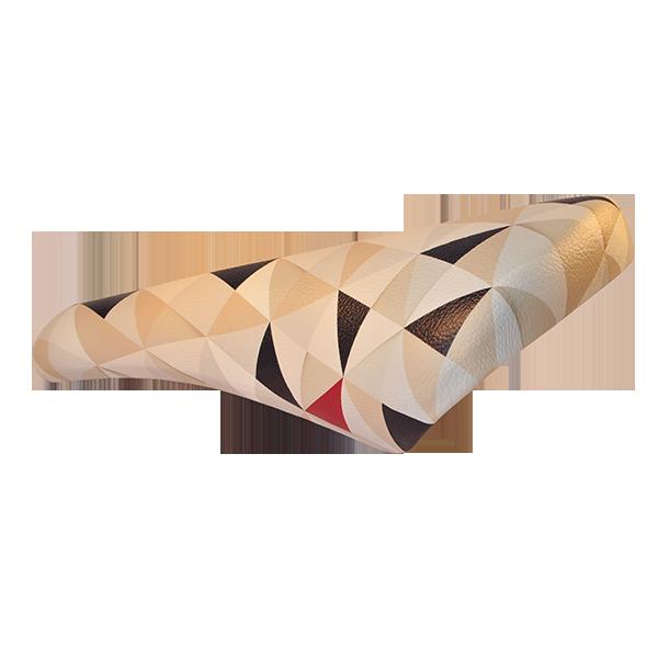 Bike seat-origami-handmade-triangle-saddle