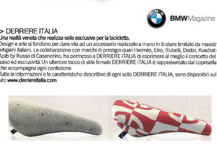 Derriereitalia on BMW Mag
