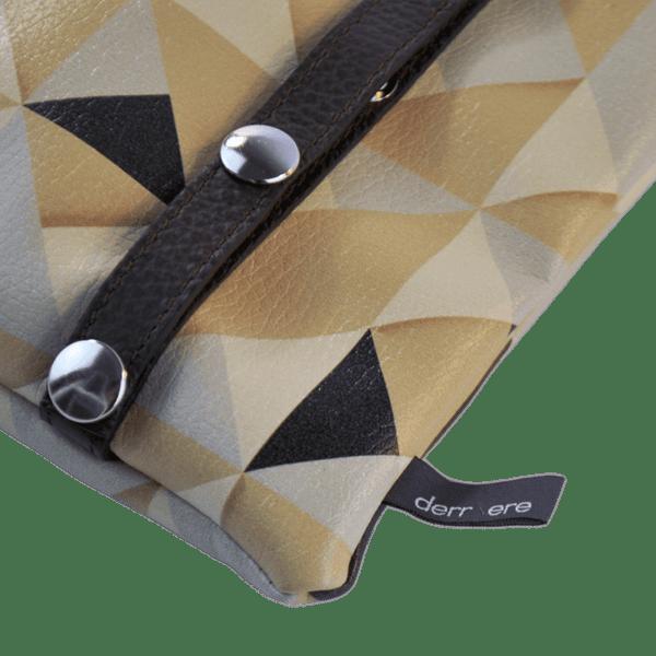 leather string-belt-bag-origami-triangle-back-detail