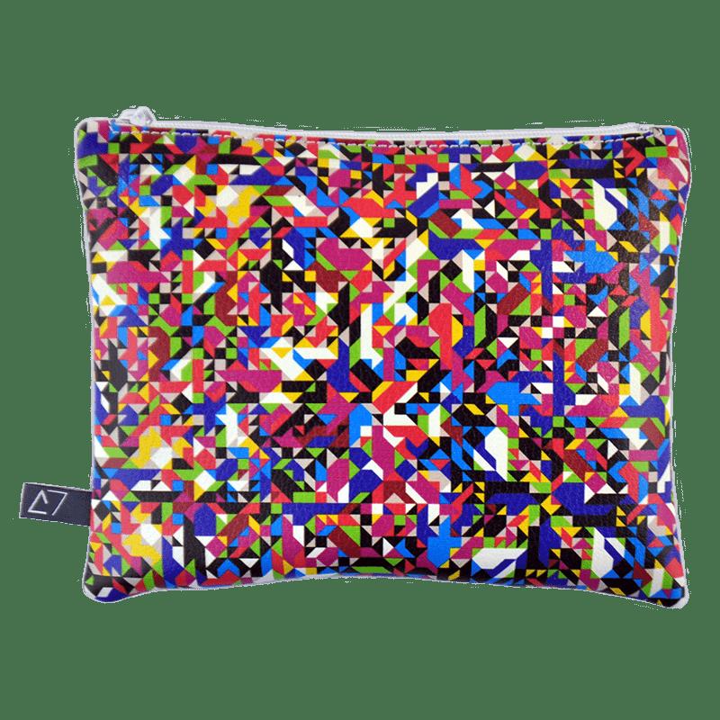Belt-bag-pochette-multicolor-pixel-tv-front