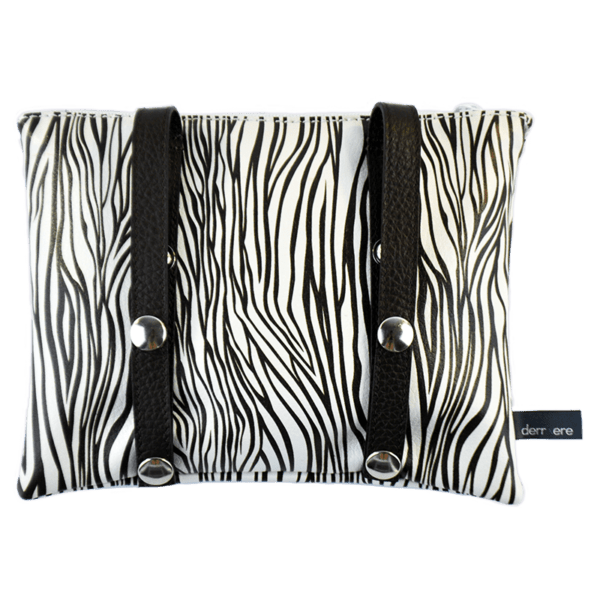 leather string-belt-bag-black-white-animalier-detail-back