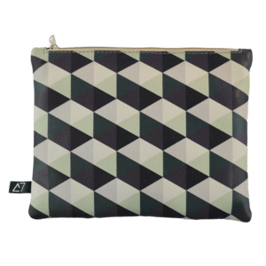 Belt-bag-pochette-rhombus-green