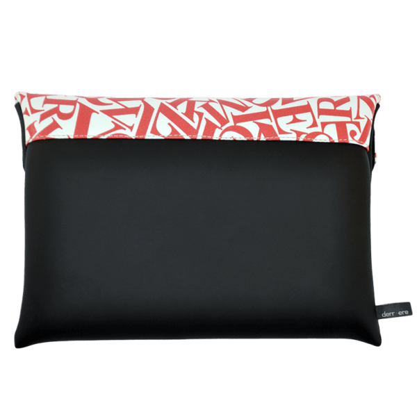 clutch-bag-ipad-case-9.7-neoprene-graphic-letters-red-back