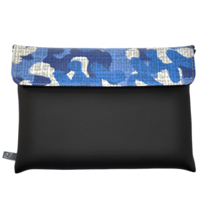 clutch-bag-ipad-case-9.7-neoprene-graphic-blue-camuflage-front