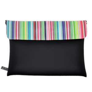 clutch-bag-ipad-case-9.7-neoprene-graphic-colorful-stripes-front