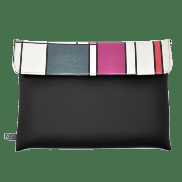clutch-bag-ipad-case-9.7-neoprene-graphic-piet-mondrian-front