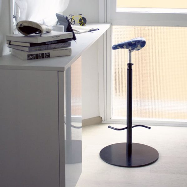 Interior-Cycling-Bar-Stool-furniture-black