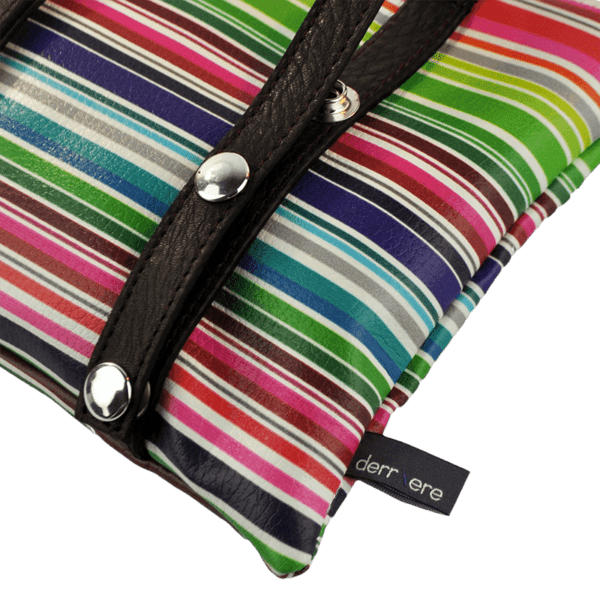 leather string-belt-bag-multicolor-horizontal-stripes-detail