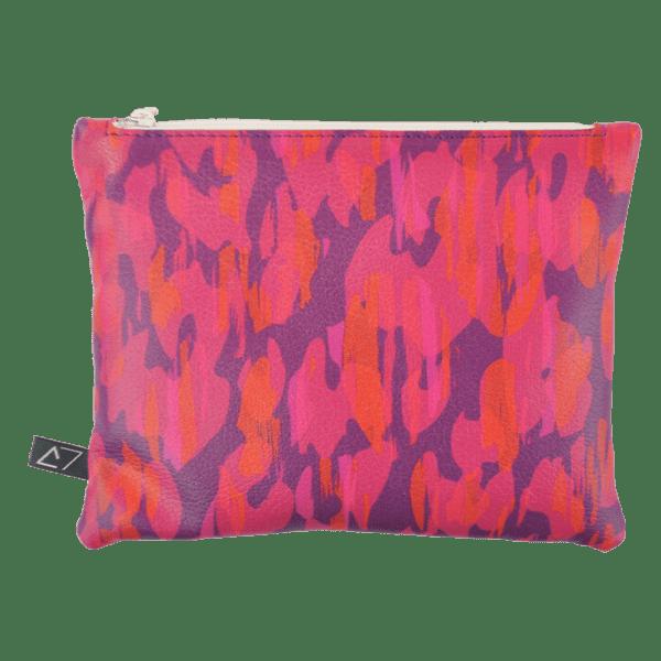 Belt-bag-pochette-pink-ghepard-front