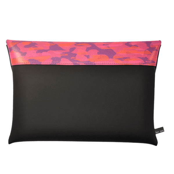 clutch-bag-ipad-case-9.7-neoprene-graphic-animalier-pink-back