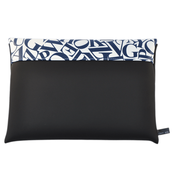 clutch-bag-ipad-case-9.7-neoprene-graphic-letters-blue-back